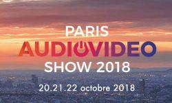 Paris Audio Video Show 2018,  October 20 to 22.